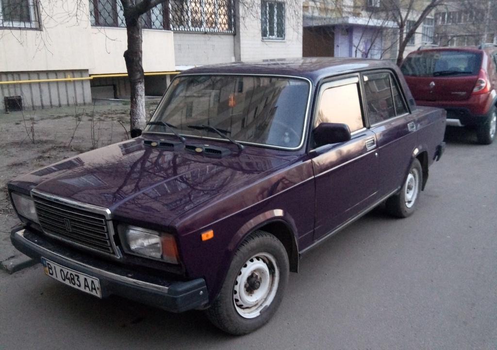 Годы выпуска ВАЗ-2107. История автомобиля