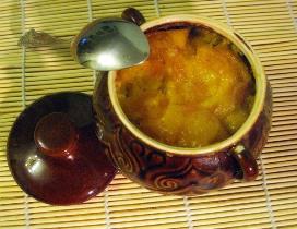 кукурузная каша с тыквой в духовке