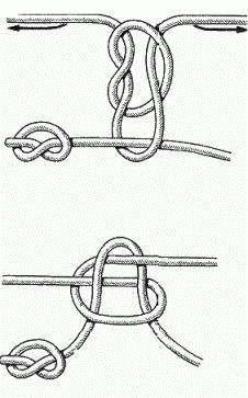 узлы для крючков и поводков