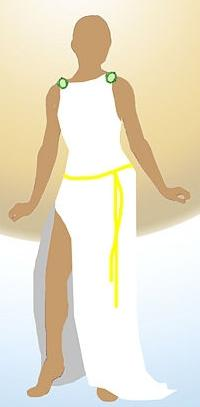 Платье в греческом стиле своими руками