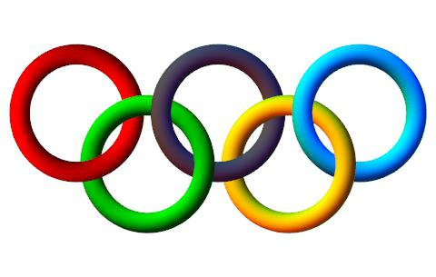 Олимпийские кольца цвета
