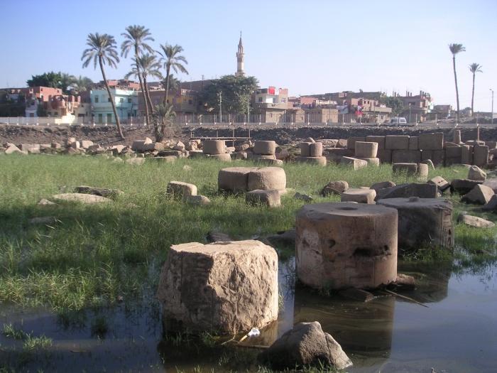 1-ая столица египетского страны