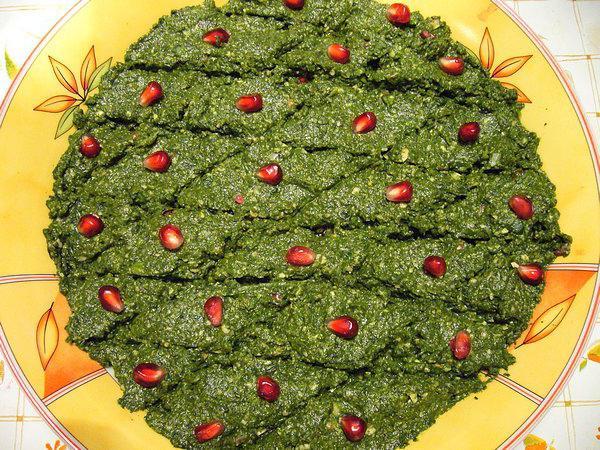 рецепт приготовления капусты по грузински