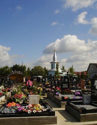ковалевское кладбище на
