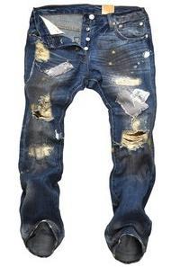 Как оттереть краску с джинсов