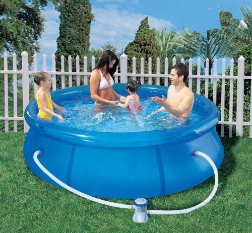 Как заклеить бассейн интекс в домашних условиях 449
