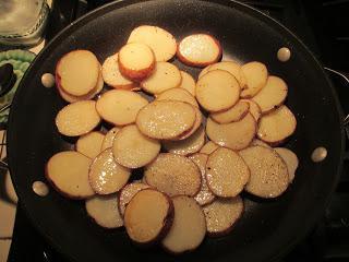 мясо под картошкой
