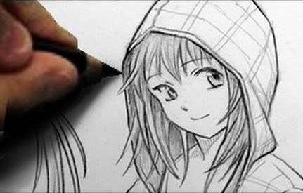 Какими карандашами рисовать волосы