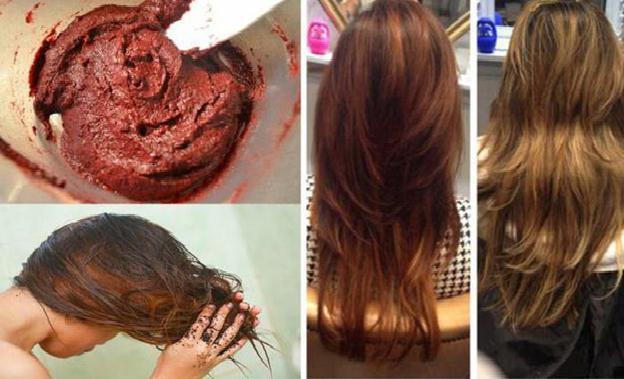 Как покрасить волосы кофем