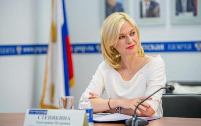 Стенякина Екатерина Петровна биография