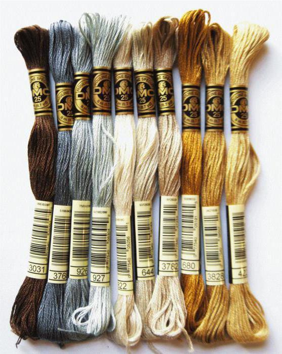 используемые нитки