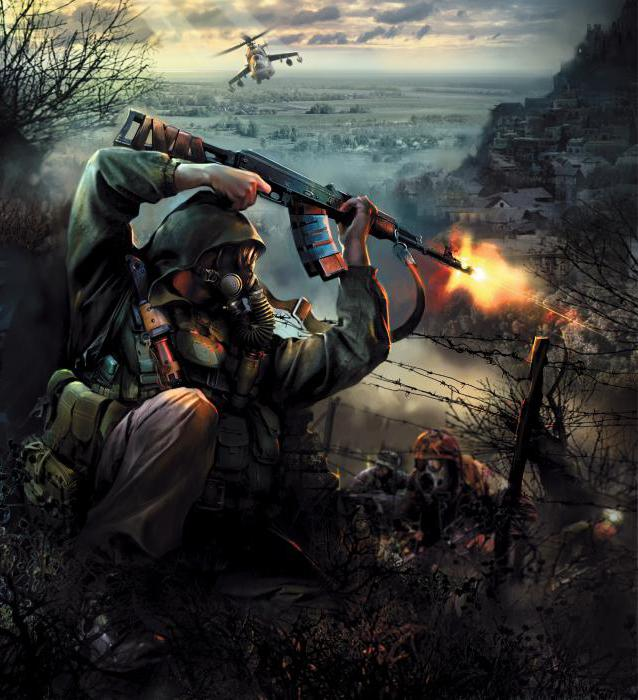 прохождение игры сталкер долг философия войны