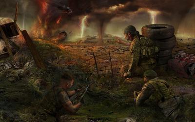 сталкер апокалипсис трилогия долг философия войны прохождение
