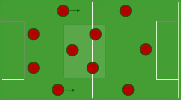тактика игры в футбол