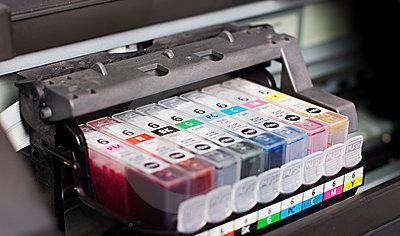 черно белая и цветная печать