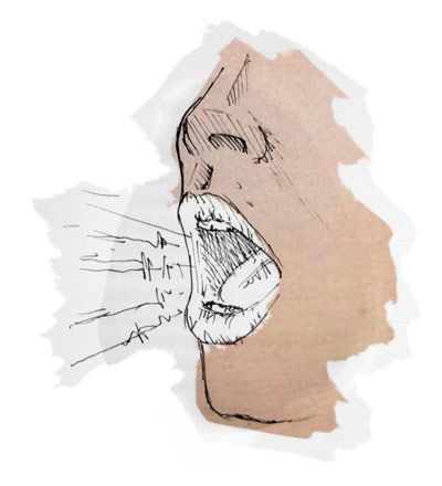как говорить грудным голосом
