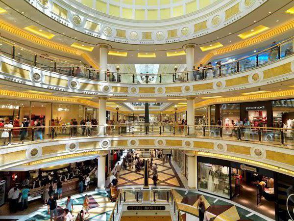 торговые центры рима