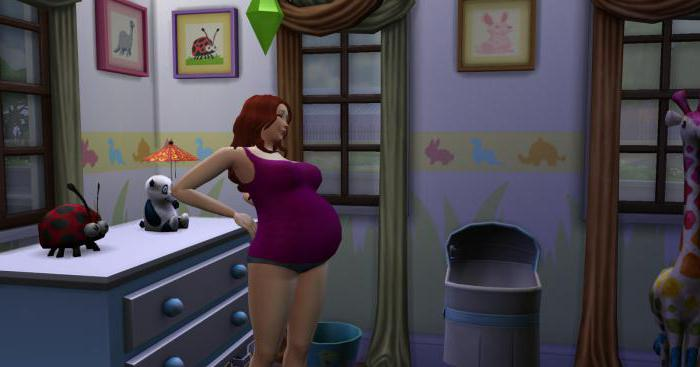 Чит коды на симс 4 беременность