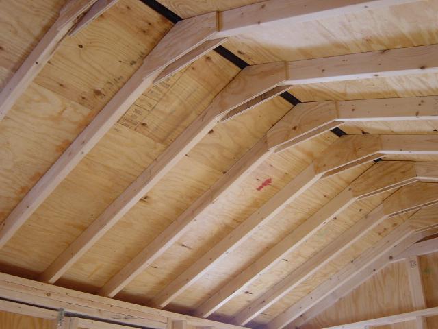 Строить двухскатную крышу своими руками видео