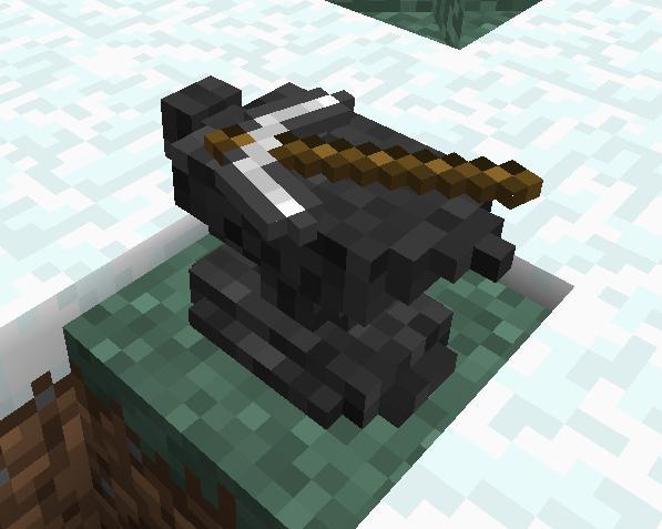 как в minecraft сделать наковальню