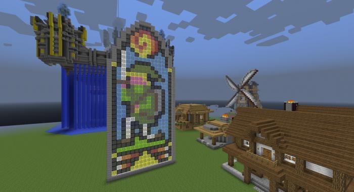 Мод на цветные блоки для майнкрафт