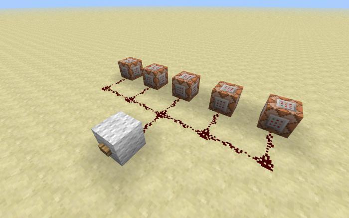как сделать командный блок