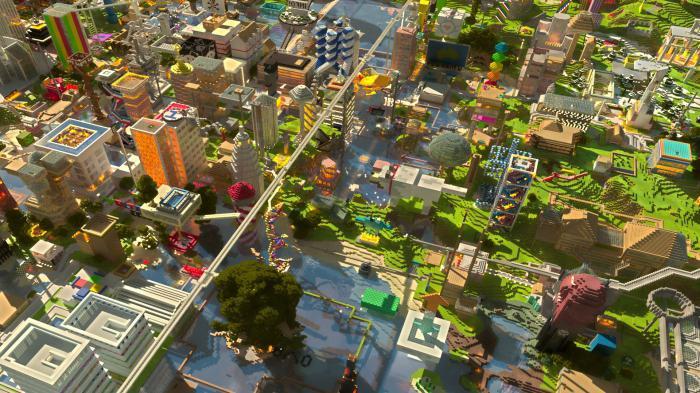 Майнкрафт видео как сделать город видео