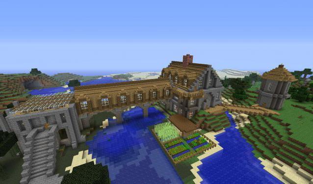 майнкрафт как построить красивый дом