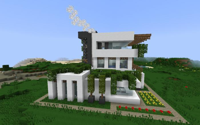 самые красивые дома в майнкрафте