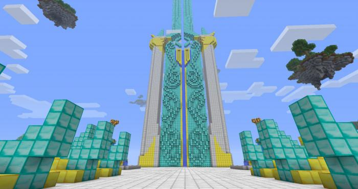 Как сделать портал рай в minecraft