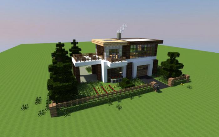 какие можно построить дома в майнкрафт