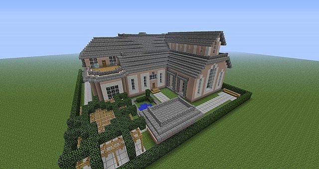 майнкрафт строим дом