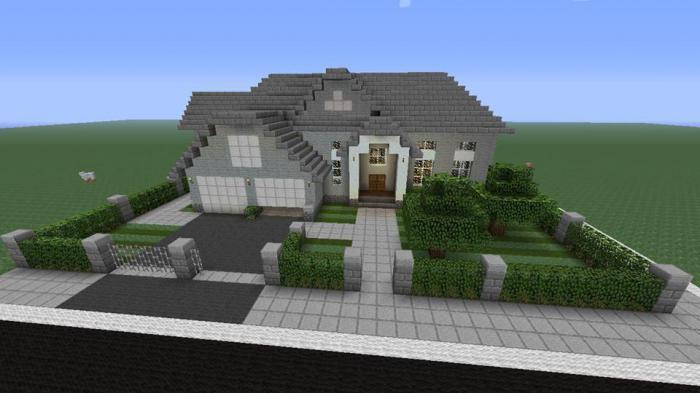 майнкрафт большой дом