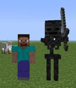 скелет иссушитель в minecraft