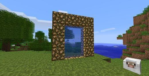 Как в майнкрафт построить порталы в картинках 18
