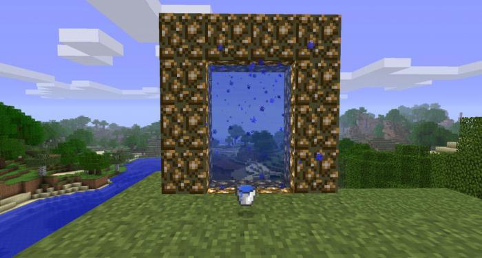 портал в рай в майнкрафт 147