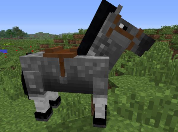 как садиться на лошадь в майнкрафте