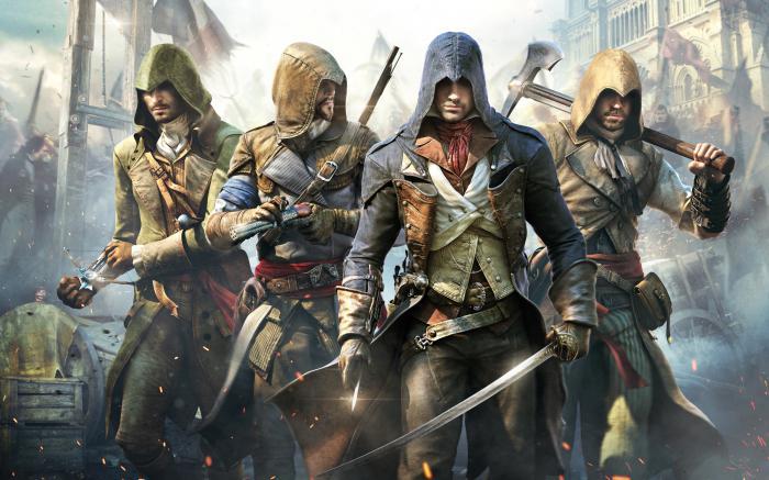 список частей assassins creed