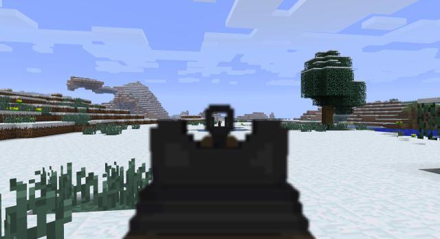 Майнкрафт про оружие