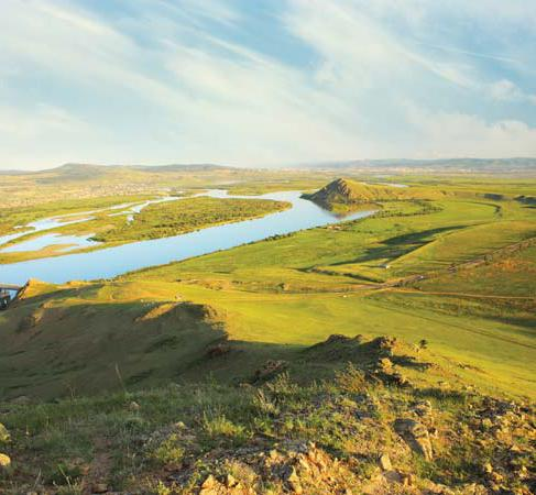 Реки Восточной Сибири, список