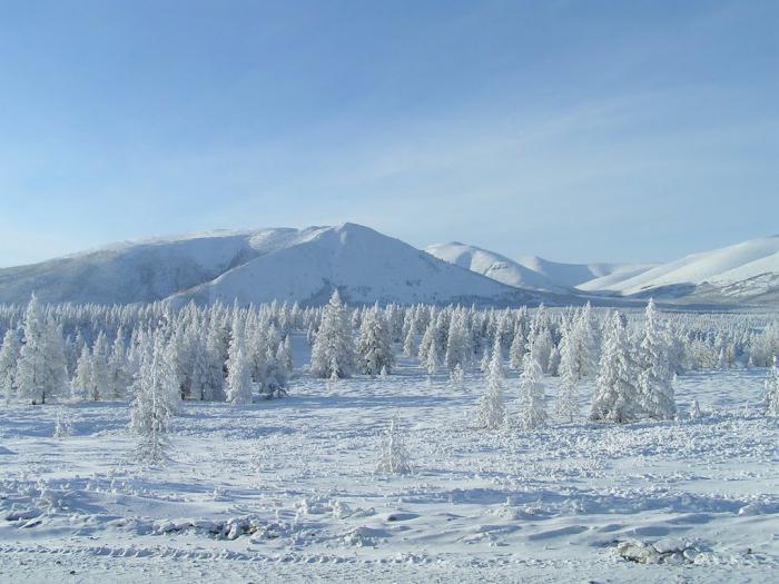 География Восточной Сибири