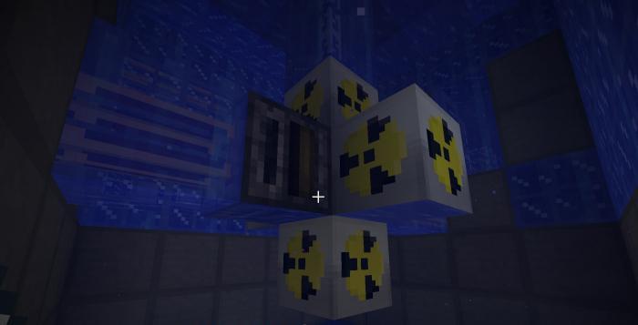 ядерный реактор в майнкрафт схемы