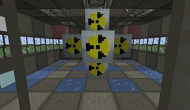 схема ядерного реактора в industrial craft