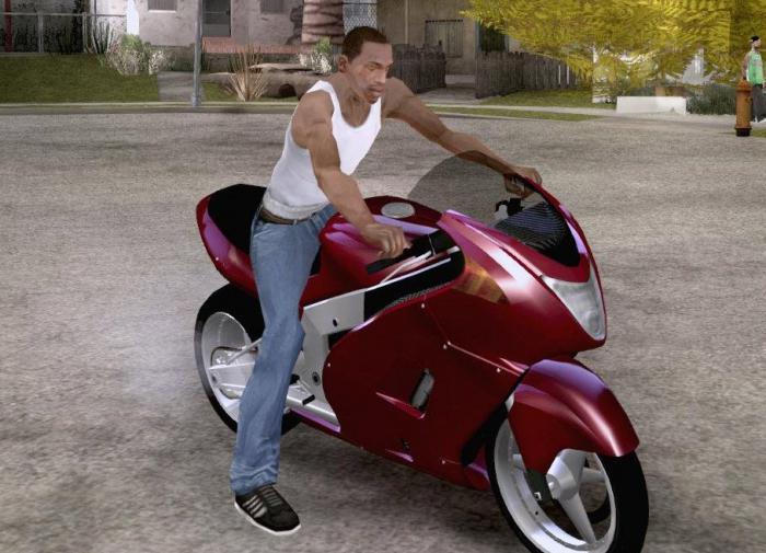 коды гта сан андреас мотоцикл