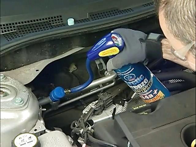 оборудование для заправки и ремонта автокондиционеров установка