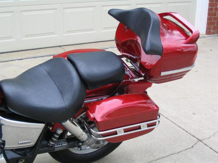070121600863 Боковые пластиковые кофры для мотоцикла (фото). Боковые кофры для мотоцикла  своими руками