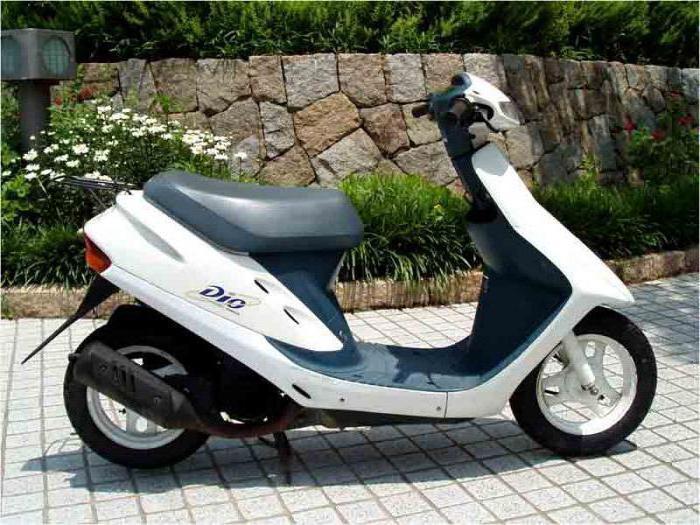 характеристика скутера honda dio