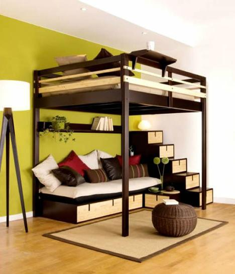 Дизайн в однокомнатной квартире с детской