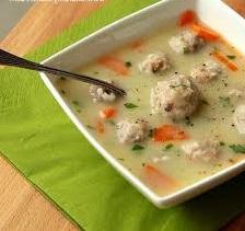 куриные фрикадельки для супа рецепт
