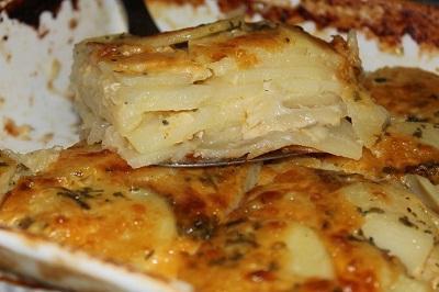 запеченная куриная грудка с картошкой